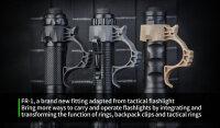 Nextorch FR1 taktischer Low Light Ring - Führungshilfe